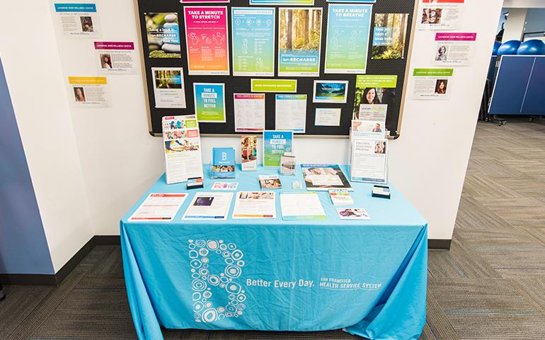Wellness Center resource table